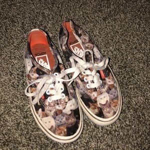 LIMITED EDITION SPCA KITTY CAT VANS SNEAKERS